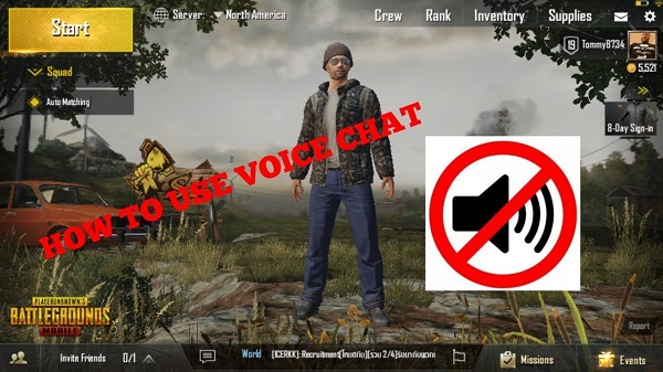 Cách sử dụng voice chat trong game PUBG Mobile1