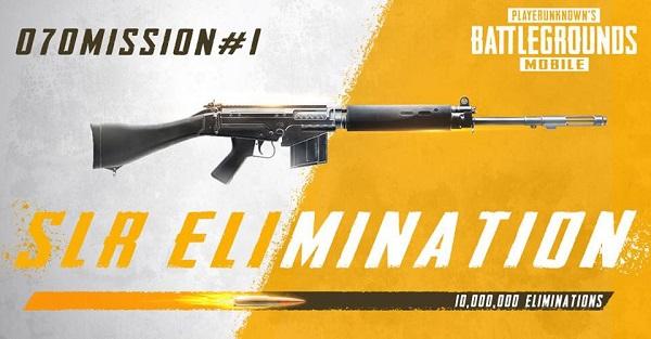 SLR Rifle - Thành viên mới nhất kho vũ khí trong PUBG Mobile