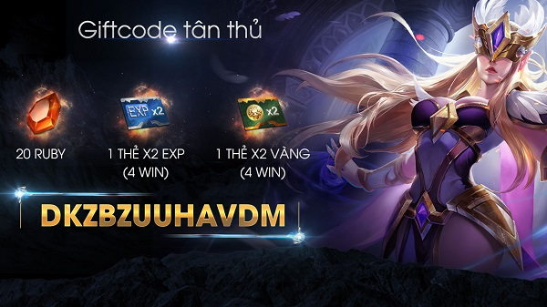 Nhận Giftcode game Liên Quân Mobile và nhập Code